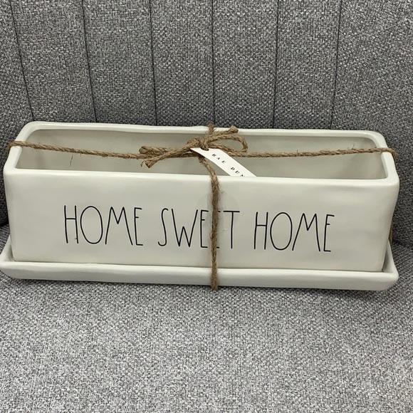 Rae Dunn Home Sweet Home Planter new
